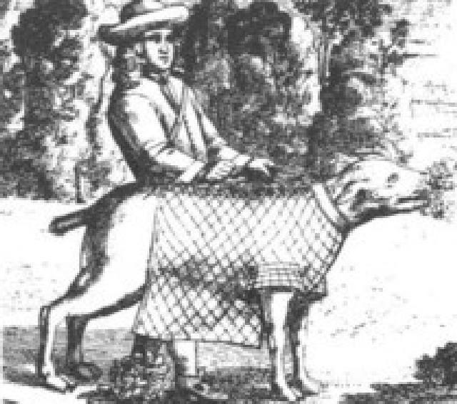 (cc) Gepanzerter Saurüde (Mittelalter)