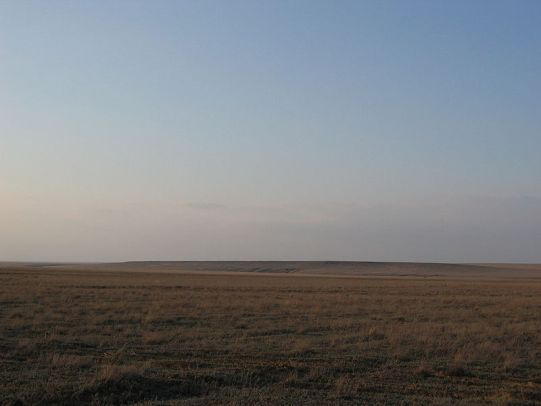 (cc) Carole, Steppe im Westen Kasachstans (2004), wikipedia