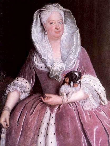 (cc) Künstler: Antoine Pesne, Porträt der Sophie Dorothea von Preußen (1737), wikipedia